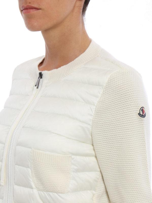 Moncler buy online Cardigan - Weiß