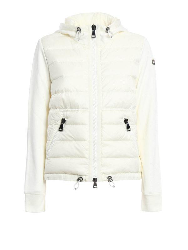 Moncler - Sweat-Shirts Et Pulls Blanc - Sweatshirts   Pulls - B2 093 ... f1ad5137e99