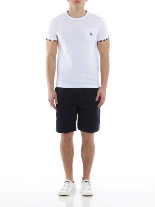 moncler t shirt and shorts