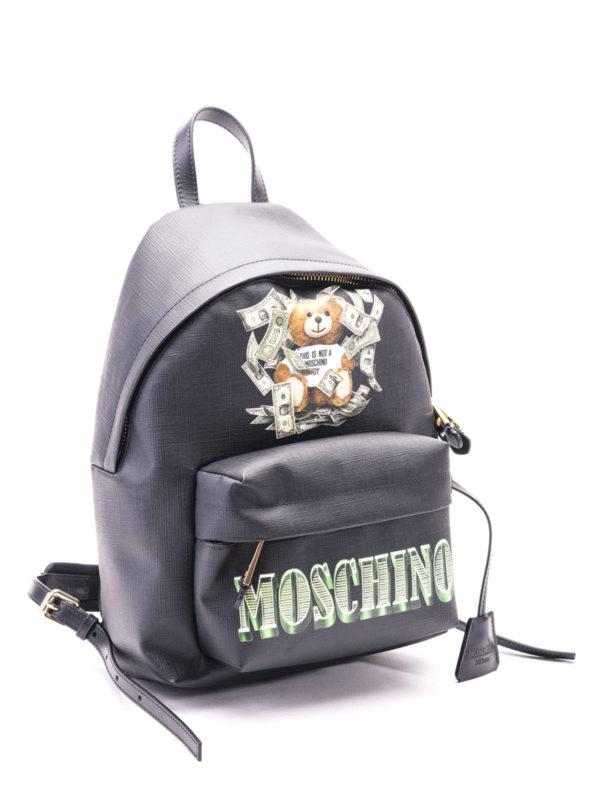 GXGZ Moschino inspirierter Wickeltaschenrucksack