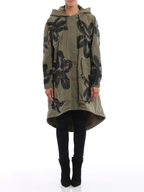 MOSCHINO: Parkas online - Parka - Over