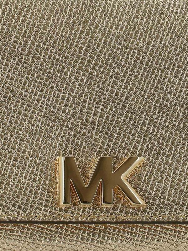 Clutch - Gold shop online: MICHAEL KORS
