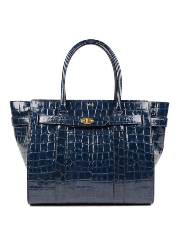 MULBERRY: Handtaschen - Shopper - Blau