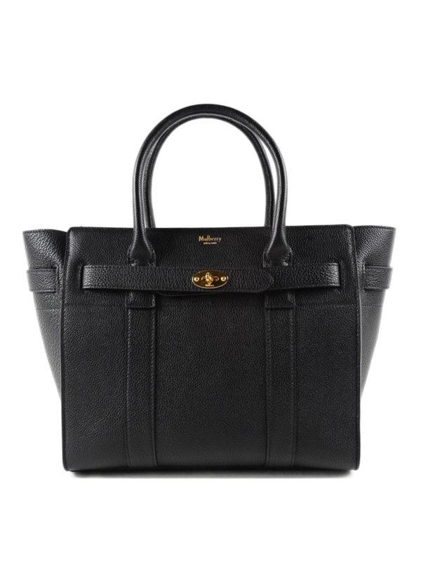 Mulberry: Handtaschen - Shopper - Schwarz