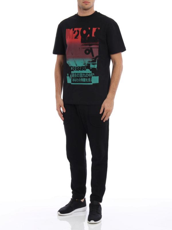 T-Shirt - Schwarz shop online: Mcq