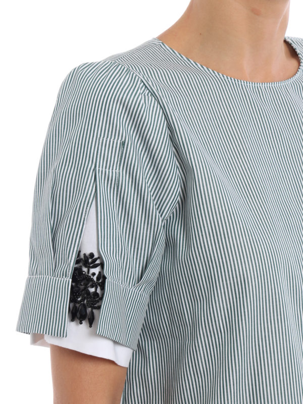 N°21 buy online Bluse - Gemustert