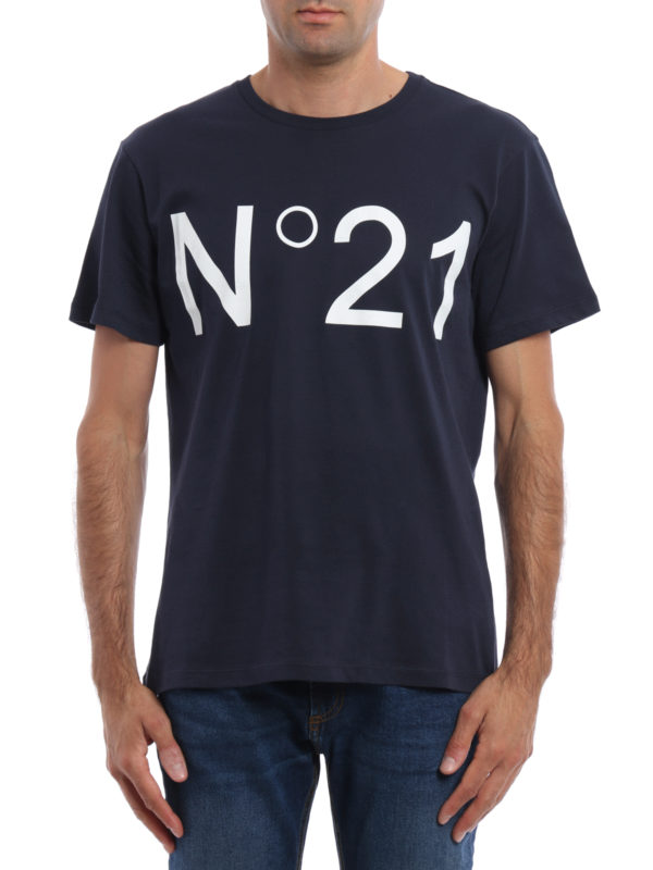 N°21: T-shirts online - T-Shirt - Blau