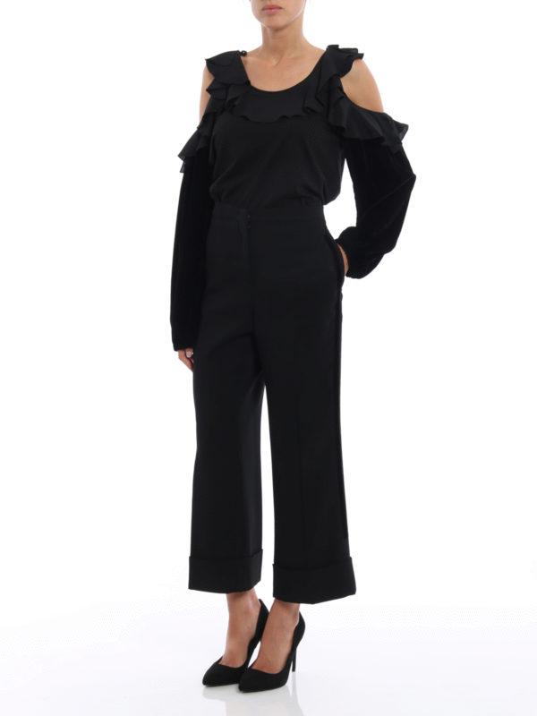N°21: Maßgeschneiderte und Formale Hosen online - Casual Hosen - Einfarbig