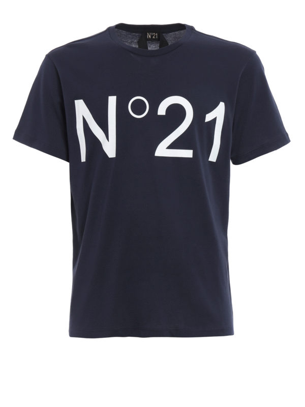 N°21: T-shirts - T-Shirt - Blau
