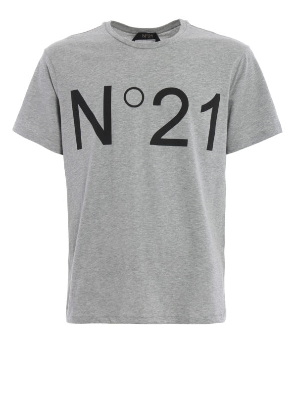 N°21: T-shirts - T-Shirt - Grau