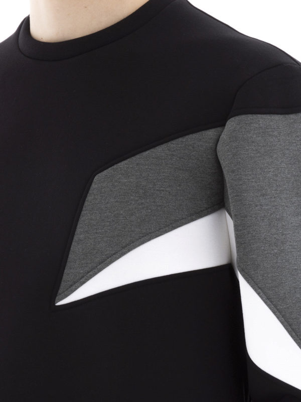 NEIL BARRETT buy online Sweatshirt - Schwarz