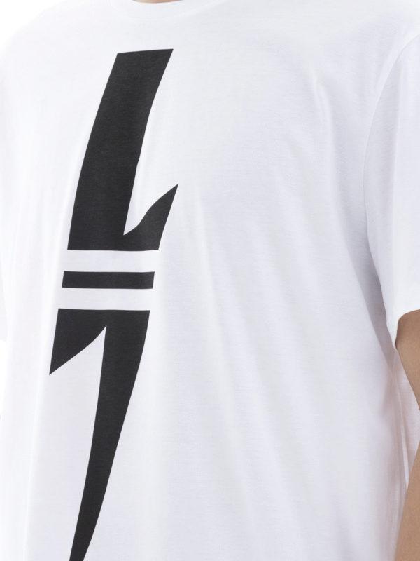 NEIL BARRETT buy online T-Shirt - Weiß