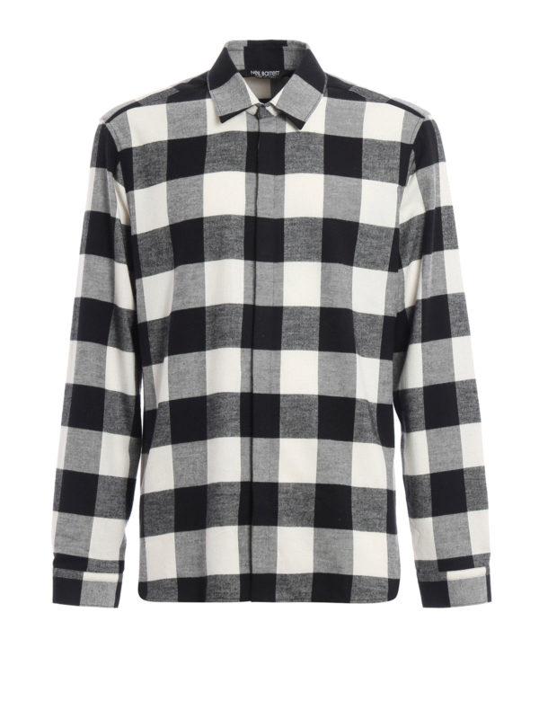 NEIL BARRETT: Hemden - Hemd - Slim Fit