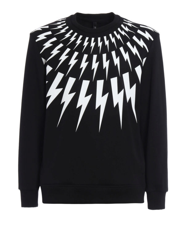 Neil Barrett: Sweatshirts und Pullover - Sweatshirt - Slim Fit