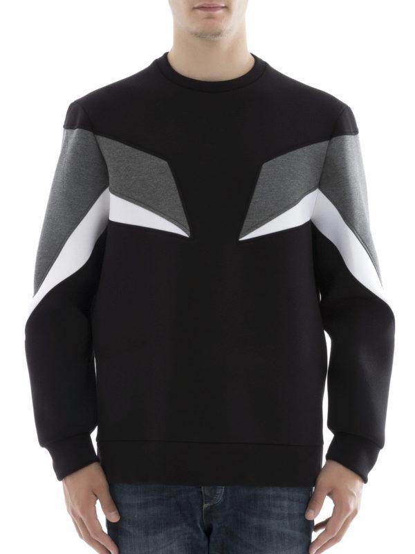 Neil Barrett: Sweatshirts und Pullover online - Sweatshirt - Schwarz