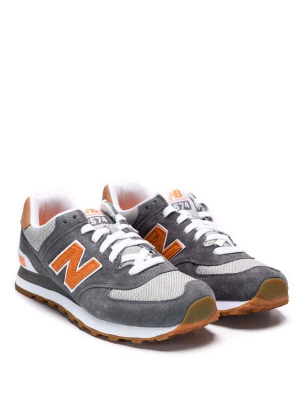 New Balance - 574 Premium Cruisin sneakers - trainers - ML574PIB 197b719b20