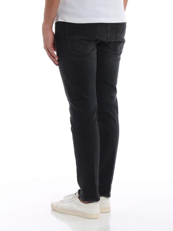 Straight Leg Jeans - Dunkelgrau shop online: DONDUP