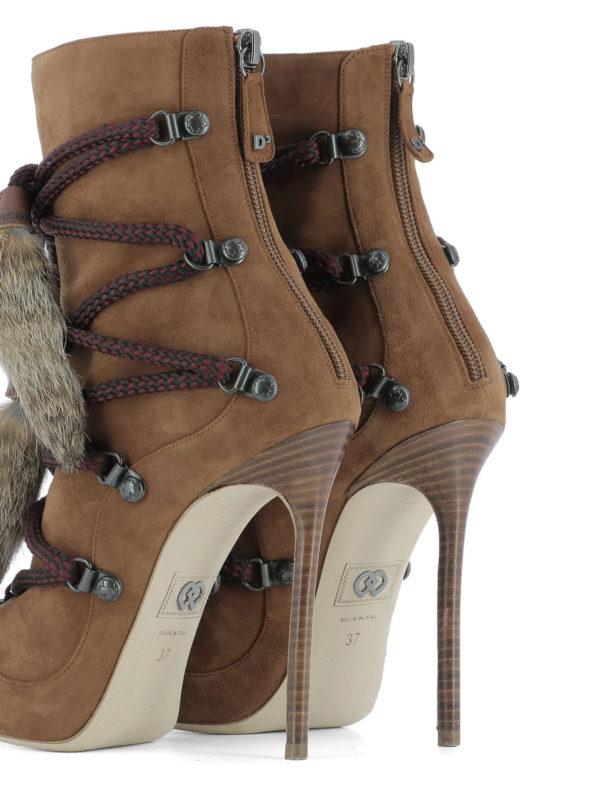Stiefeletten - Hellbraun shop online: Dsquared2