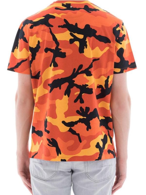 T-Shirt - Orange shop online: VALENTINO