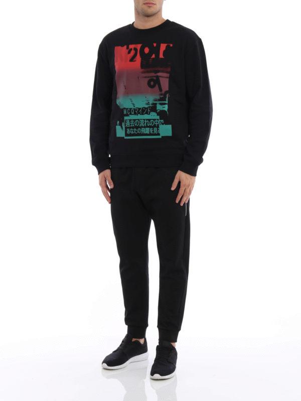 Sweatshirt - Gemustert shop online: Mcq