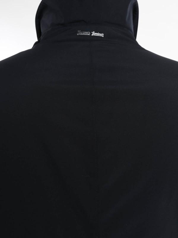 Lange Daunenmäntel shop online. Laminar raincoat
