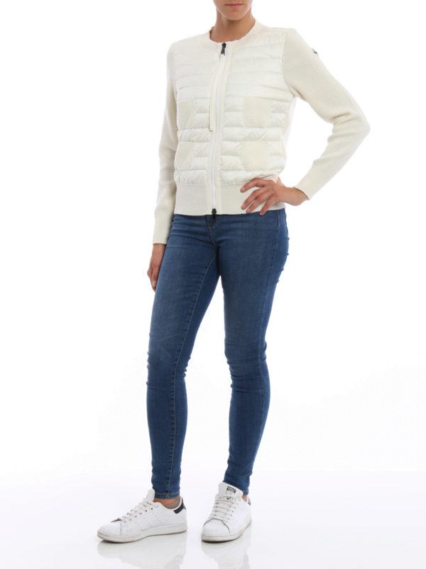 Cardigan - Weiß shop online: Moncler