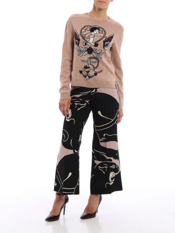 Formale Hose - Bunt shop online: Valentino