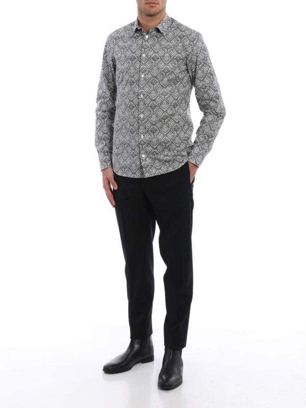 Hemd - Gemustert shop online: Alexander Mcqueen