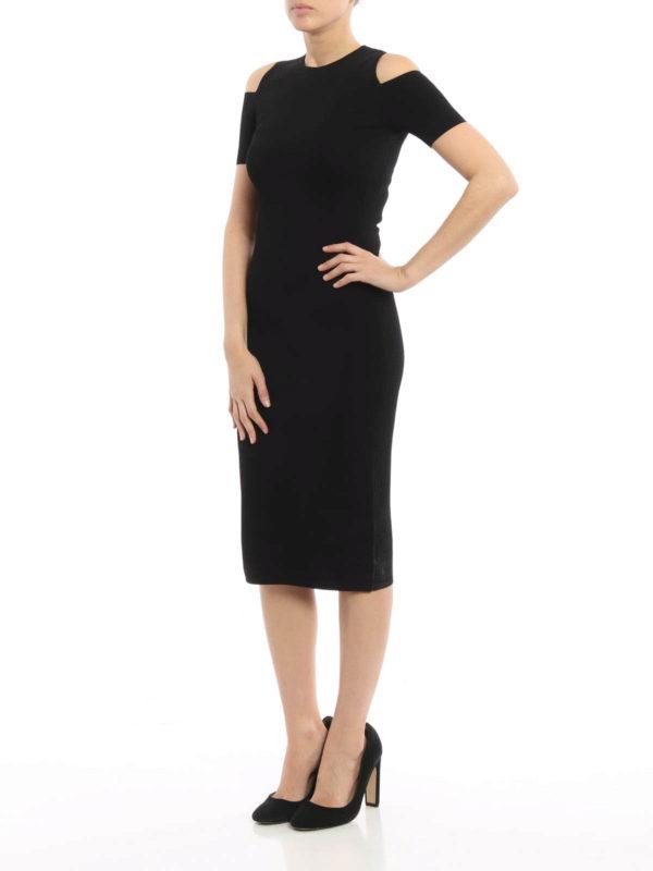 michael kors clothes outlet online dxtb  Peekaboo ponte short dress shop online: Michael Kors