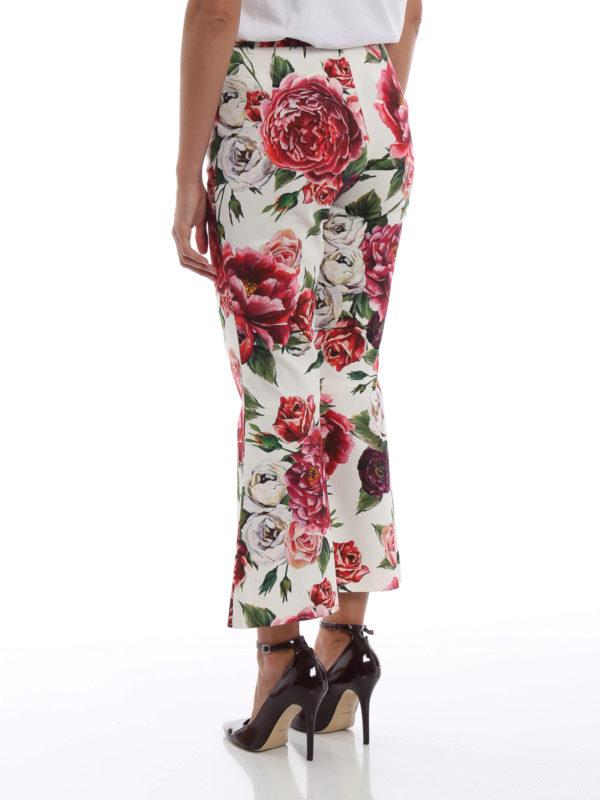 Casual Hosen - Gemustert shop online: DOLCE & GABBANA