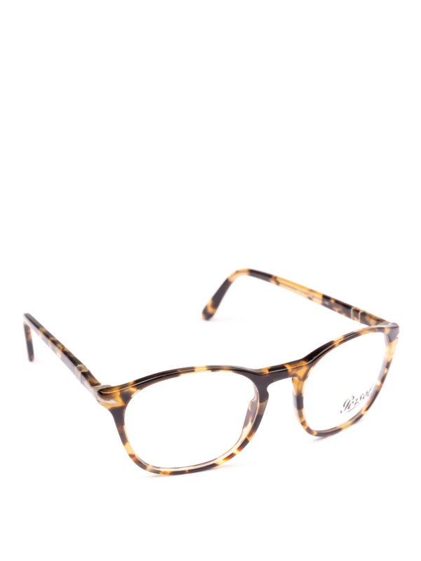 PERSOL: Glasses - Token havana beige optical glasses