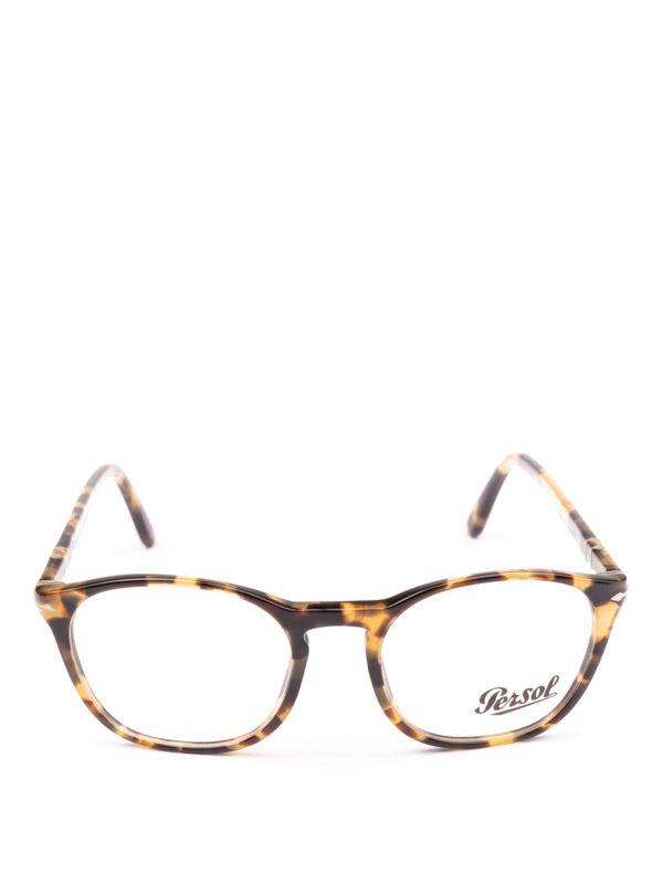 PERSOL: Glasses online - Token havana beige optical glasses