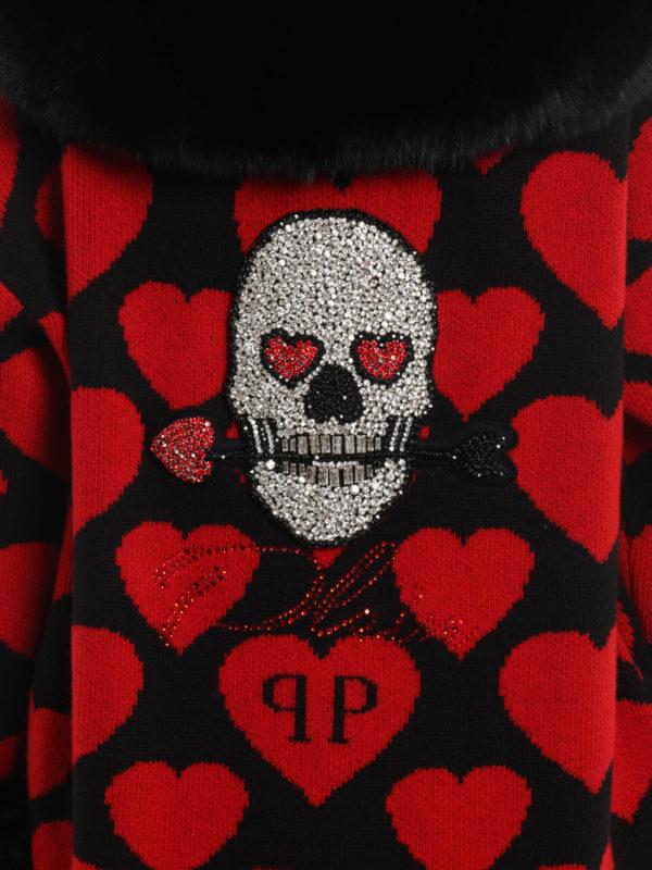 PHILIPP PLEIN buy online Kurzer Mantel - Rot