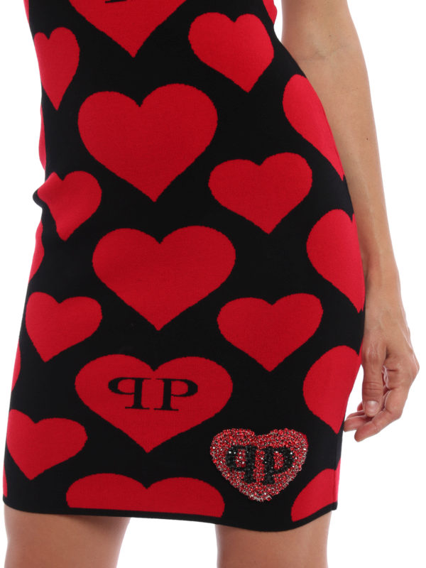 Philipp Plein buy online Kurzes Kleid - Schwarz