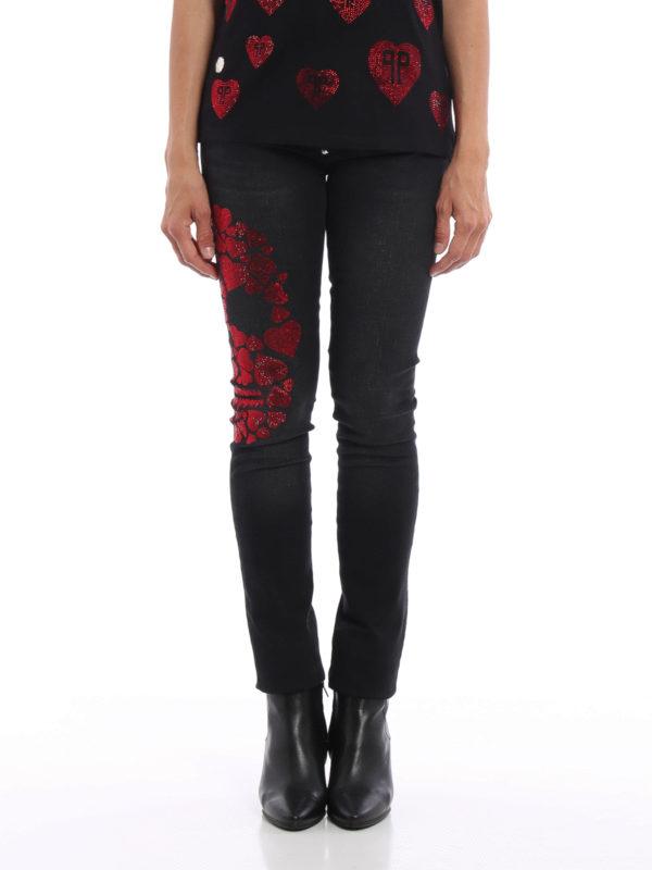 PHILIPP PLEIN: Skinny Jeans online - Skinny Jeans - Schwarz