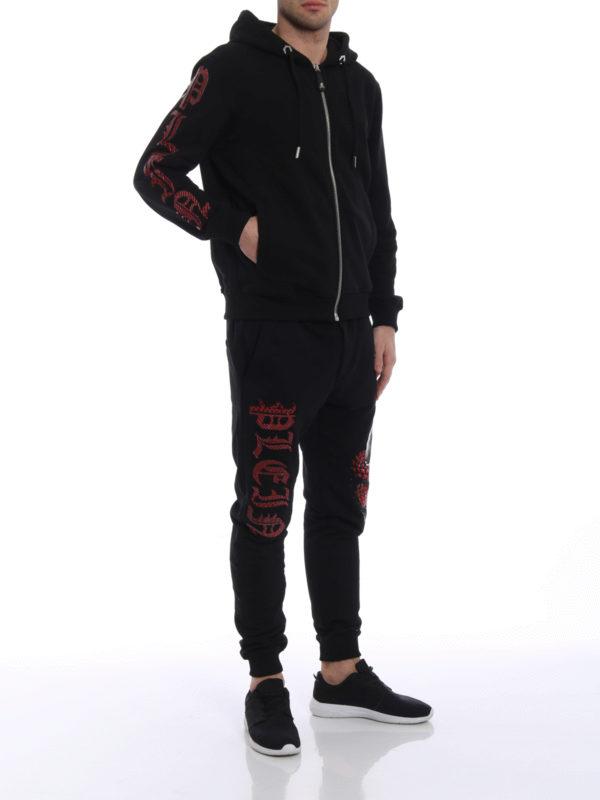 PHILIPP PLEIN: Sweatshirts und Pullover online - Sweatshirt - Schwarz