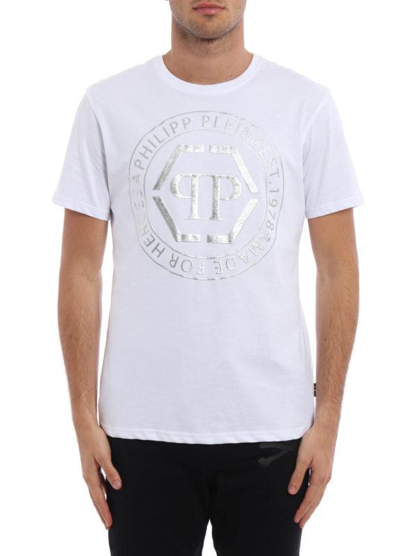 PHILIPP PLEIN: T-shirts online - T-Shirt - Weiß