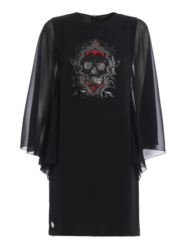 Philipp Plein: Kurze Kleider - Kurzes Kleid - Schwarz