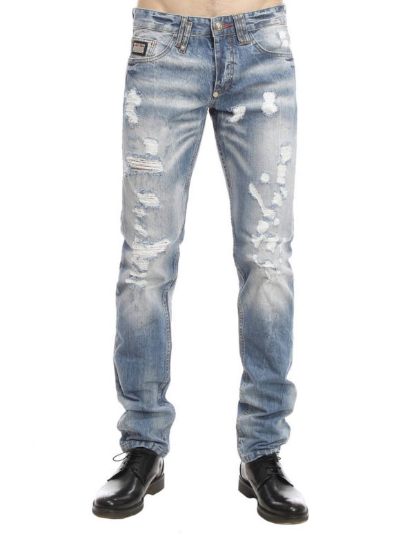 Philipp Plein: straight leg jeans online - Religion jeans