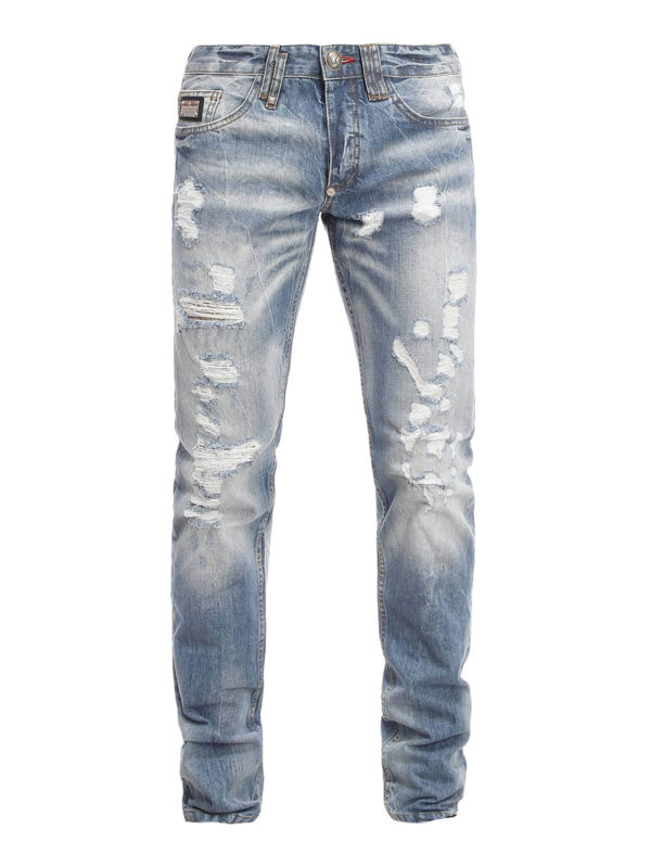 Philipp Plein: straight leg jeans - Religion jeans