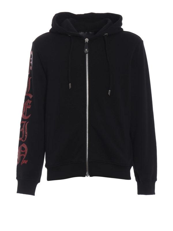 PHILIPP PLEIN: Sweatshirts und Pullover - Sweatshirt - Schwarz