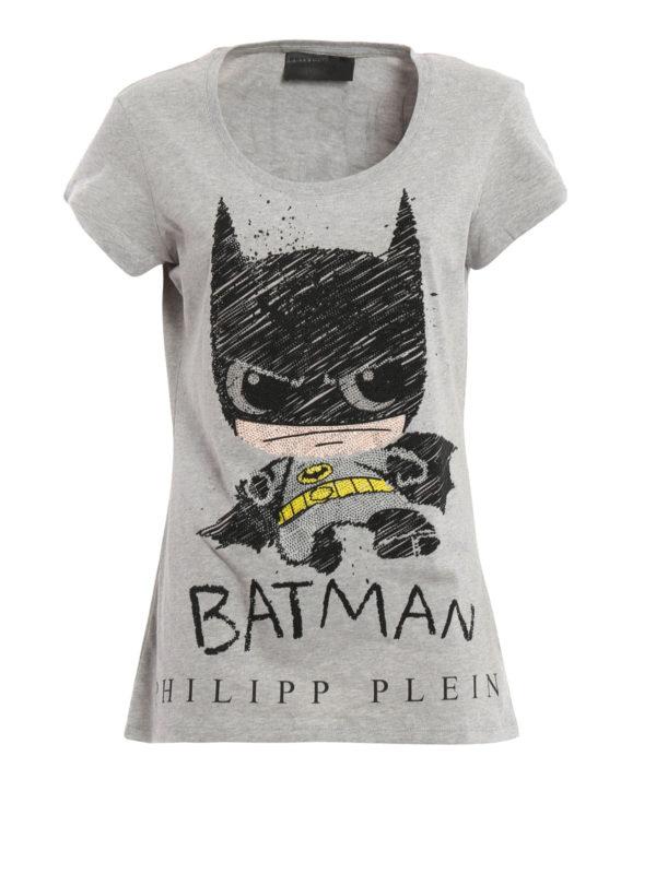 Philipp Plein - T-Shirt Batman Mini - Grau - T-shirts - FW16CW3440721046 9d81036ea3