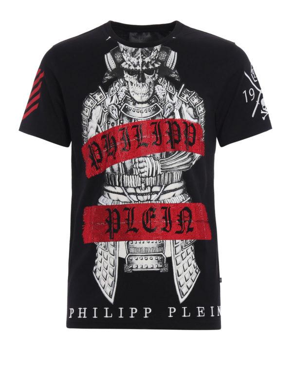 Philipp Plein: T-shirts - T-Shirt - Schwarz