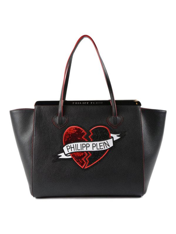 PHILIPP PLEIN: Handtaschen - Shopper - Schwarz