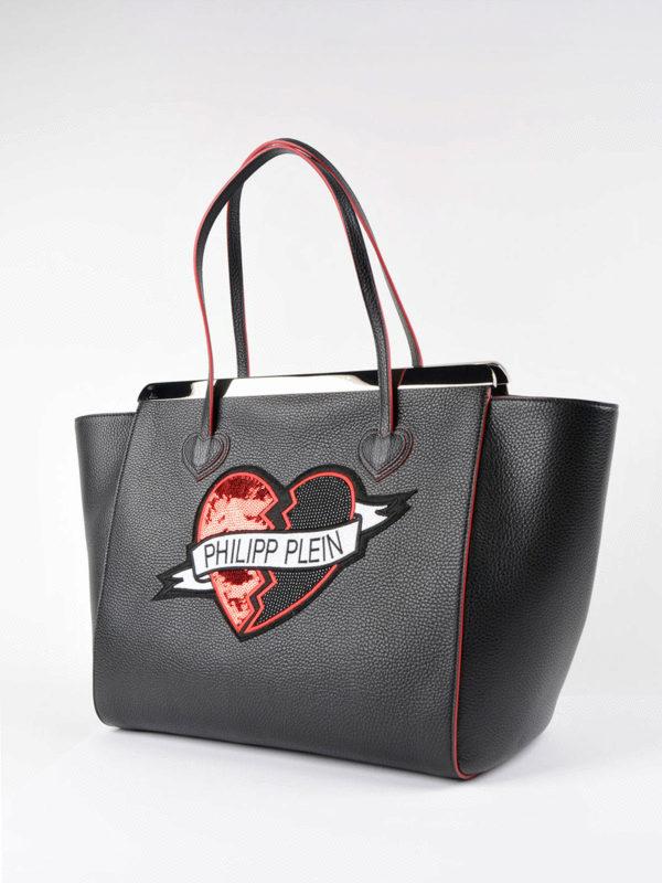 Philipp Plein: Handtaschen online - Shopper - Schwarz
