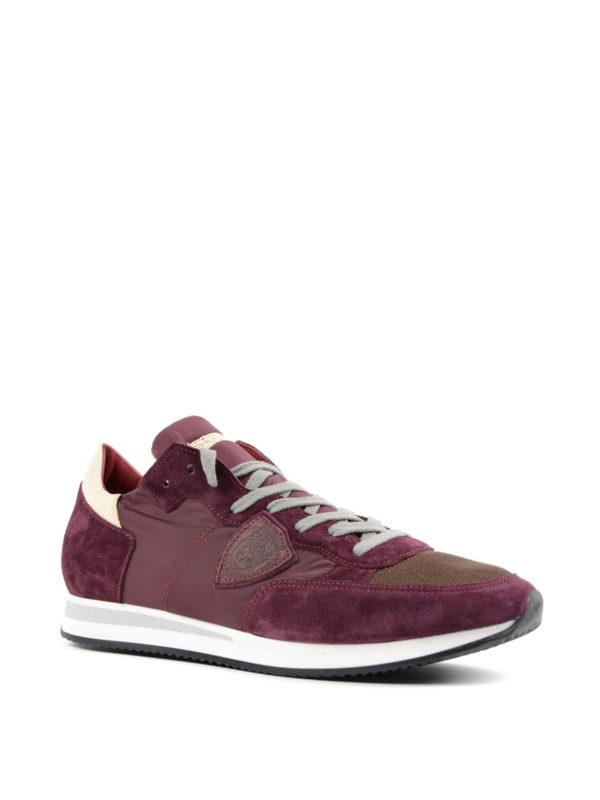 PHILIPPE MODEL: Sneaker online - Sneaker - Dunkelrot