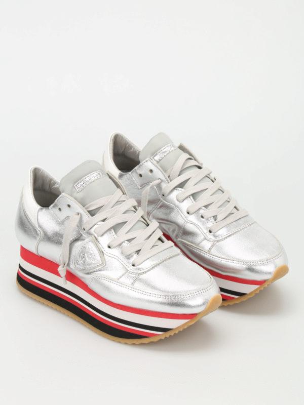 Philippe Model: Sneaker online - Sneaker - Silber