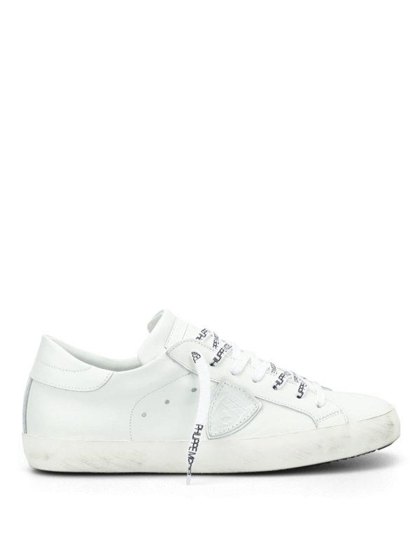 Philippe Model: Sneaker - Sneaker - Weiß