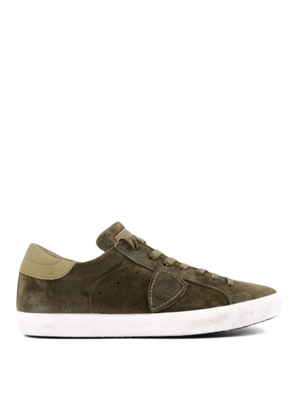 Philippe Model: Sneaker - Sneaker - Dunkelgrün