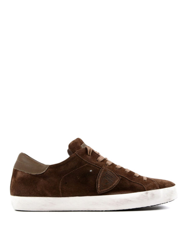 Philippe Model: Sneaker - Sneaker - Braun